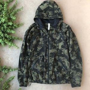 Lululemon Rise and Shine Camouflage Rain Jacket